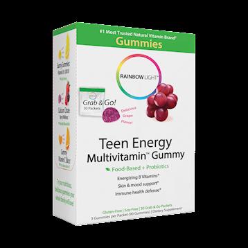 Rainbow Light Nutrition Teen Enrgy Multivitamin Gummy 30 packs R21816