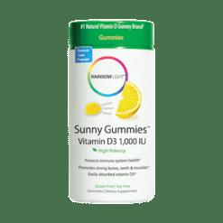 Rainbow Light Nutrition Vitamin D3 Sunny Gummies™ 100ct R12064