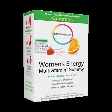 Rainbow Light Nutrition Womens Energy Multivitamin Gummy 30 pk R21717