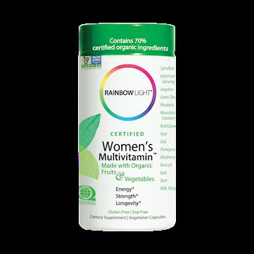 Rainbow Light Nutrition Womens Multi 120 vcaps R80001