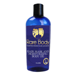 Rare Body Body Oil 7.5 oz RB6108