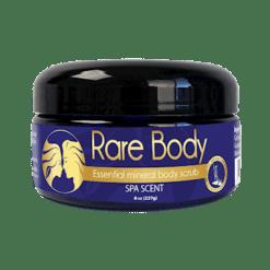Rare Body Salt Scrub Spa Scent 8 oz RB6306