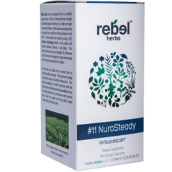 Rebel Herbs 11 NuroSteady 60 softgels RH4284