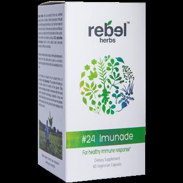 Rebel Herbs 24 Imunade 60 vegcaps RH4291