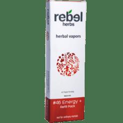 Rebel Herbs 46 Energy Vapor Refill 1 Refill RH4437