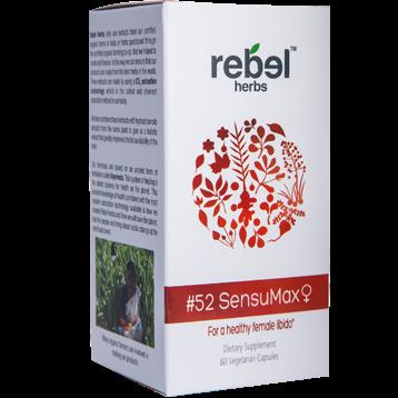 Rebel Herbs 52 SensuMax 60 vegcaps RH4321