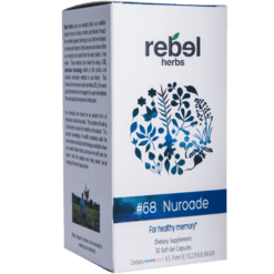 Rebel Herbs 68 Nuroade 30 softgels RH4154
