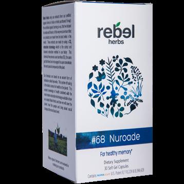 Rebel Herbs 68 Nuroade 30 softgels RH4154