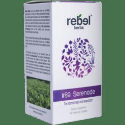 Rebel Herbs 89 Serenade 60 vegcaps RH4352