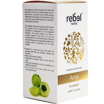 Rebel Herbs Amla Powdered 1.15 oz RH4260