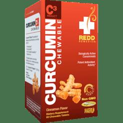 Redd Remedies Curcumin C3 Reduct 60 chew tabs R01460