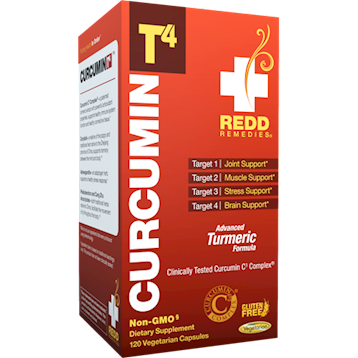 Redd Remedies Curcumin T4trade 120 vegcaps R01415