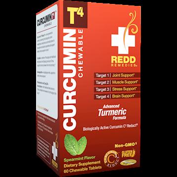 Redd Remedies Curcumin T4trade 60 chew tab R01446