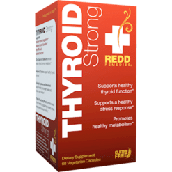 Redd Remedies Thyroid Strongtrade 60 vegcaps R01248