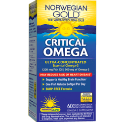 Renew Life Critical Omega 60 softgels R55795