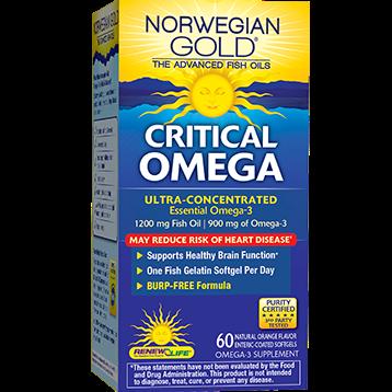 Renew Life Critical Omega 60 softgels R55795