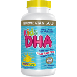 Renew Life Norwegian Gold Kids DHA 60 chews R57157
