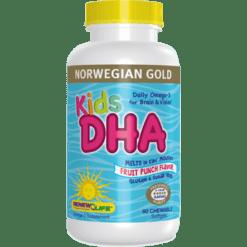 Renew Life Norwegian Gold Kids DHA 60 chews R57157