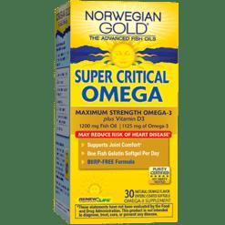 Renew Life Super Critical Omega 30 softgels R55542