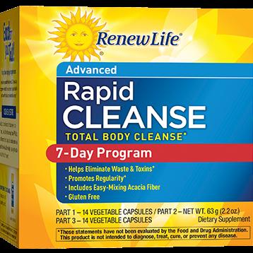 Renew Life Total Body Rapid 7 Day pt 1 14 vegcaps R60247