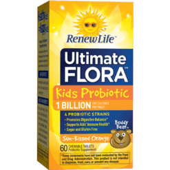 Renew Life Ultimate Flora Kids Probiotic 1 Billion Orange 60 chews R57195