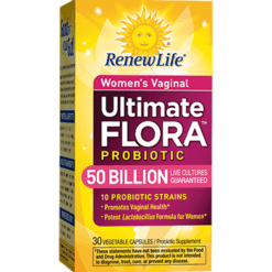 Renew Life Ultimate Flora Wmns Vaginal 30 vegcaps R75356