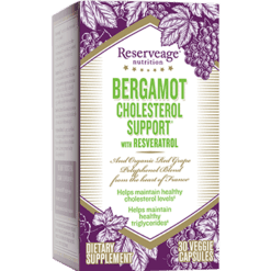 Reserveage Bergamot Cholesterol Support 30 vegcaps RE02778