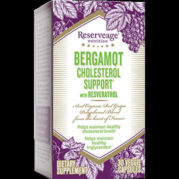 Reserveage Bergamot Cholesterol Support 30 vegcaps RE02778