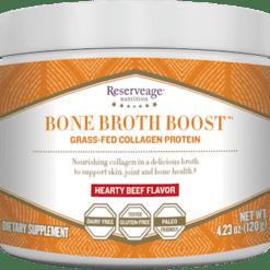 Reserveage Bone Broth Boost Powder Beef 4.23 oz R06540