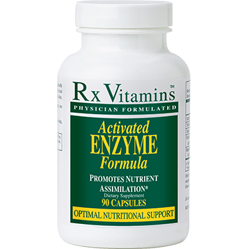 Rx Vitamins Activated Enzyme 90 capsules ACTIV