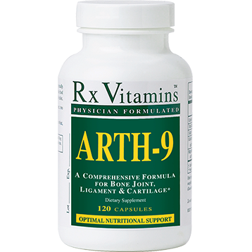 Rx Vitamins Arth 9 120 capsules ARTH9