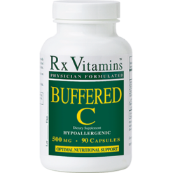Rx Vitamins Buffered C 500 mg 90 capsules BUFC5