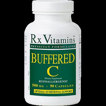 Rx Vitamins Buffered C 500 mg 90 capsules BUFC5