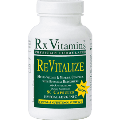 Rx Vitamins Revitalize Iron Free 90 capsules REVI2