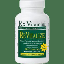 Rx Vitamins Revitalize Iron Free 90 capsules REVI2