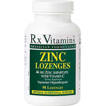Rx Vitamins Zinc Lozenges 15 mg 90 loz ZIN17