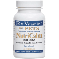 Rx Vitamins for Pets NutriCalm for Dogs 50 capsules NCDOG