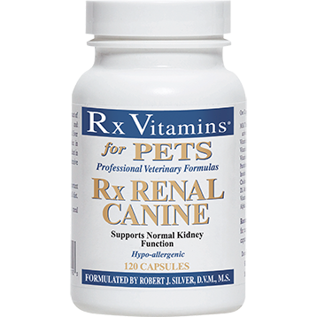 Rx Vitamins for Pets Rx Renal Canine 120 caps RX8115