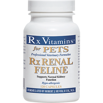 Rx Vitamins for Pets Rx Renal Feline 120 caps RX8116