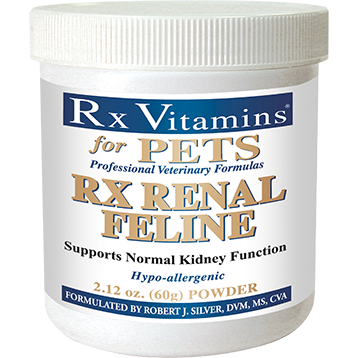 Rx Vitamins for Pets Rx Renal Feline Powder 2.12 oz RX8118
