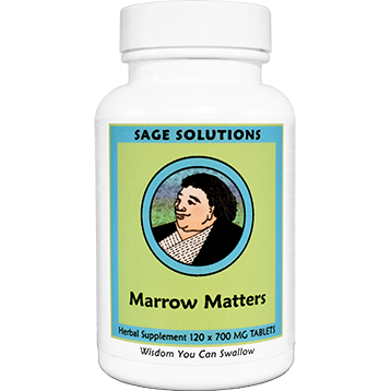 Sage Solutions by Kan Marrow Matters 120 tabs MMA12