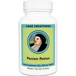 Sage Solutions by Kan Passion Potion 120 tablets PSP12