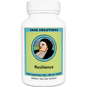 Sage Solutions by Kan Resilience 120 tablets RES20