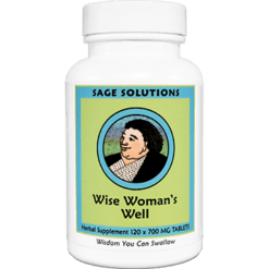 Sage Solutions by Kan Sage Sol. Wise Womens Well 120 tabs WWW12