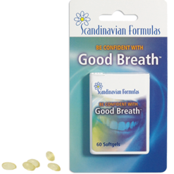Scandinavian Formulas Good Breath 60 gels GOODB
