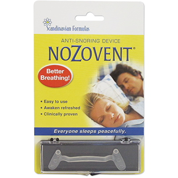 Scandinavian Formulas NoZovent Anti Snoring 1 strip NOZO1D