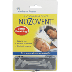 Scandinavian Formulas NoZovent Anti Snoring 2 strip NOZO2D