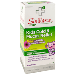 Similasan USA Kids Cold amp Mucus Relief Syrup 4 fl oz S56115