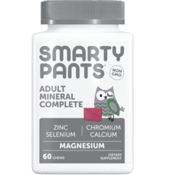 SmartyPants Vitamins Adult Mineral Complete 60 chews S20776