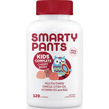 SmartyPants Vitamins Kids Cherry Berry 120 gummies S20561